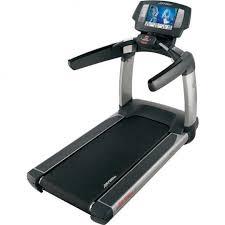 life fitness treadmill 95t ene used