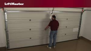 liftmaster garage door won t fully open