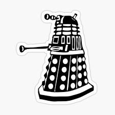Dalek Stickers Redbubble