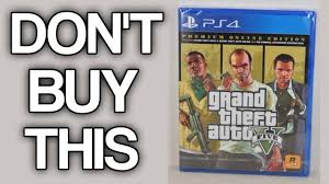 The Grand Theft Auto V Premium Ripoff Edition - YouTube
