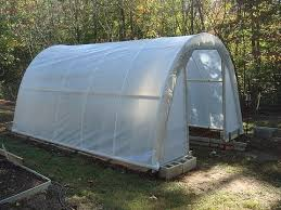build a hoop house greenhouse for 50