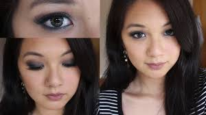 smokey eye makeup for asian or hooded