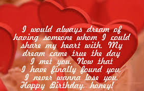 birthday wishes quotes for lover in english