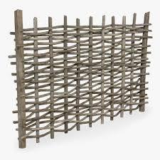 Wooden Fence 3d Models For Download Turbosquid