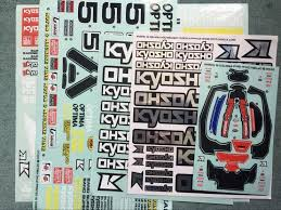 Kyosho Car Shell Body Decals Sticker Logo Optima Off Road Bajer Buggy 1 10 Hsp Redcat Hpi Buggy 1 10 Baja Hpi1 10 Buggy Aliexpress