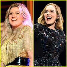 Kelly Clarkson Addresses the Discussion Surrounding Adele's Weight Loss | Adele,  Kelly Clarkson | Just Jared