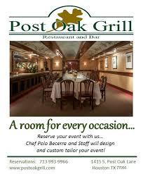 """Post Oak Grill on Twitter: """"… """""""