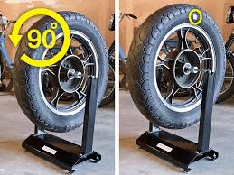balance a motorcycle tire yourself