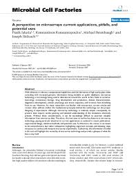 PDF) A perspective on microarrays: current applications, pitfalls, and  potential uses | Konstantinos Konstantopoulos - Academia.edu