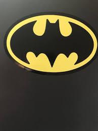 Batman Vinyl Decal Etsy