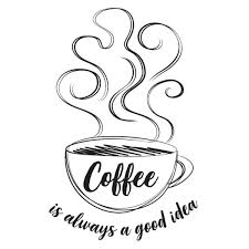 Wall Pops Always Coffee Black Wall Quote Decal Dwpq3076 The Home Depot