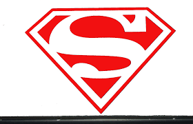 Amazon Com Large Superman Vinyl Decal Sticker Car Hood Wall 75057 23 X 30 5 Red Arts Crafts Sewing