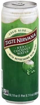 taste nirvana coco aloe coconut water