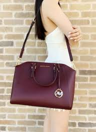 michael kors ciara saffiano leather