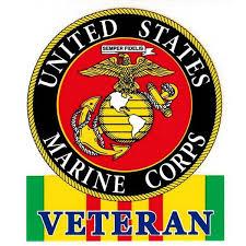 Emarine Px U S Marine Corps Vietnam Vet Decal
