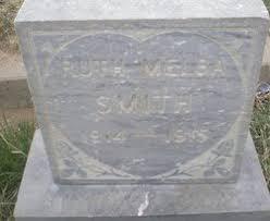 Ruth Melba Smith (1914-1915) - Find A Grave Memorial