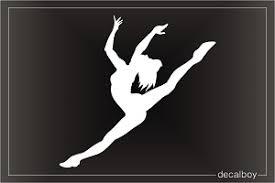 Dancers Decals Stickers Decalboy