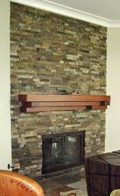 floating fireplace mantel designs 15