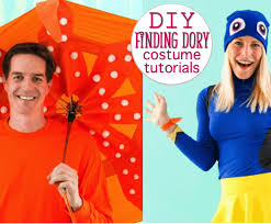 finding dory and finding nemo costumes
