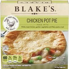 blakes frozen meal en pot pie all