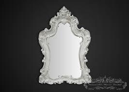 large white shabby chic mirror large