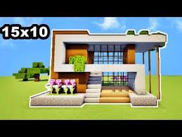 mini maison de luxe 15x10 sur minecraft