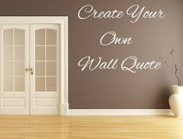 Custom Word Decal Custom Wall Decal Custom Quote Decal Etsy