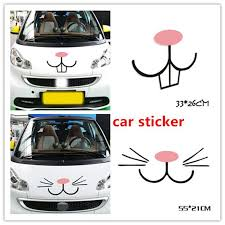 2020 Wholesale Funny Car Stickers Rabbit Cartoon Car Stickers Car Decals Stickers Body Decals Auto Decal Sticker Atp243 From York Xu 1 47 Dhgate Com