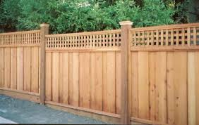 decorative pre made fence panels wood