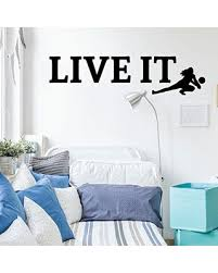 New Bargains On Volleyball Wall Decal Live It Vinyl Decor For Girl S Bedroom Or Playroom Sports Decorations