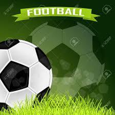 Vector De Fondo Para Las Tarjetas De Futbol Ilustraciones Vectoriales Clip Art Vectorizado Libre De Derechos Image 55219749