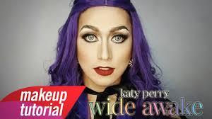 katy perry makeup tutorial wide awake