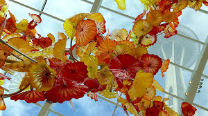 chihuly garden and glass exhibition at