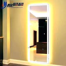 led full length mirror large