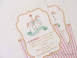 Invitacion Idea 1 Fiesta Carrusel Cumple De Barbie Y Invitaciones