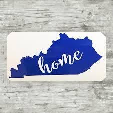 Kentucky Vinyl Decal Kentucky Car Window Decal Ky State Home Etsy Vinyl Decals Custom Car Decals Vinyl