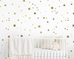 Gold Star Decal Etsy