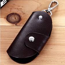 generic mens women leather key wallet