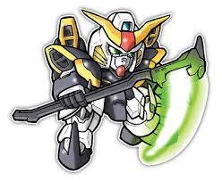 Sd Gundam Wing Deathscythe Anime Car Window Decal Sticker E010 Anime Stickery Online
