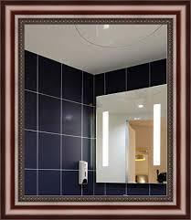 forever art framed wall vanity bathroom