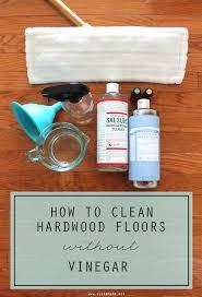 clean hardwood floors without vinegar