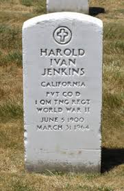 Harold Ivan Jenkins (1900-1964) - Find A Grave Memorial