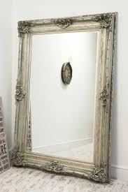 ornate big shabby chic wall mirror