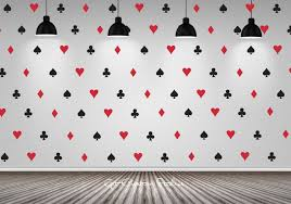 Poker Decal Wallpaper Decals Playing Card Decal Texas Holdem Decal Suits Decal Heart Spade Diamond Club Decal Game Room D Game Room Decor Wall Decals Game Room