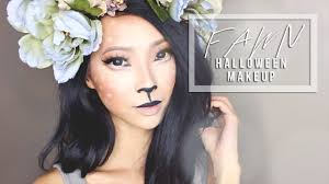 fawn costume makeup diy antlers