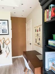 Easy Diy Cork Board Wall Boy S Workspace House Mix