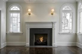 fireplace millwork traditional