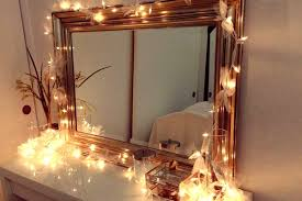 magic using fairy lights