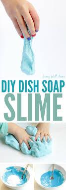 fluffy dish soap slime pletely