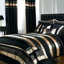 black and gold duvet cover and matching